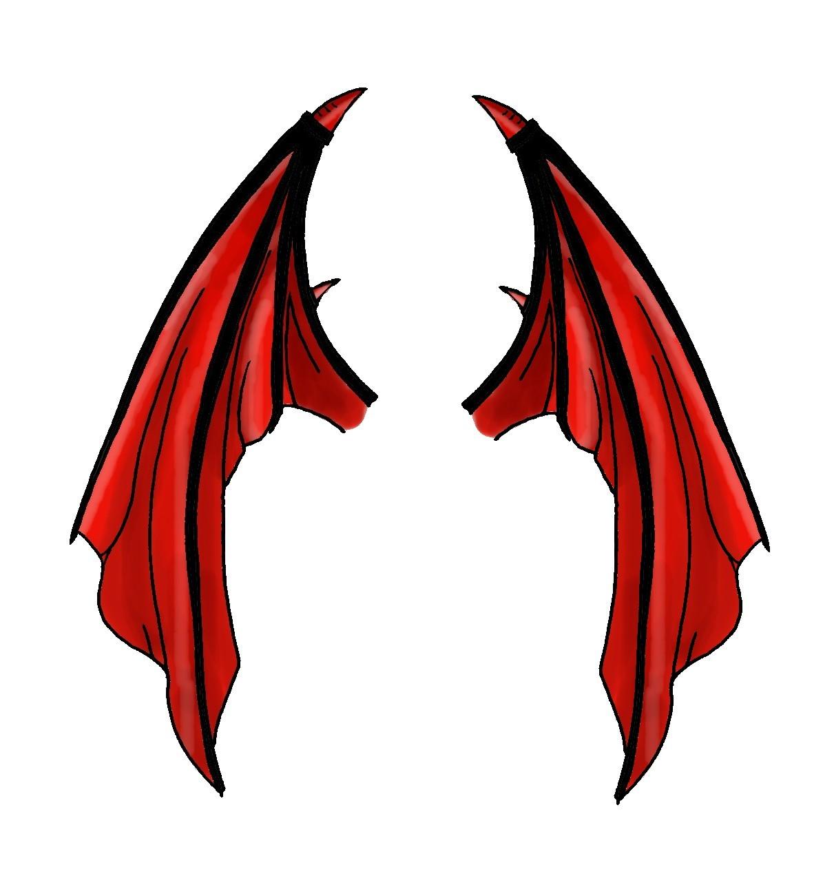 Wings clipart demon wings Image devil  Gallery wings