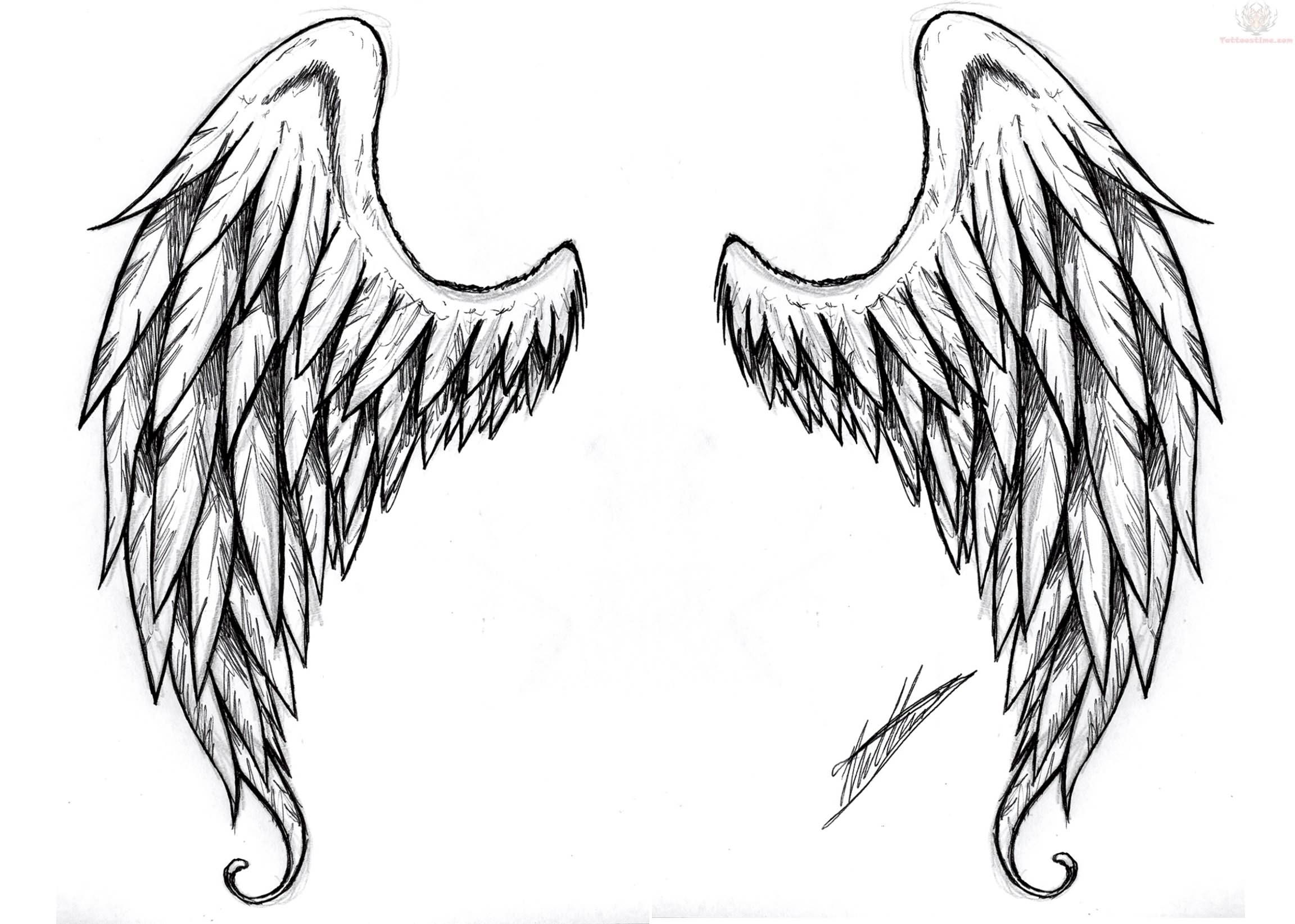 Wings clipart demon wings Grey Devil Free Tattoos Wings