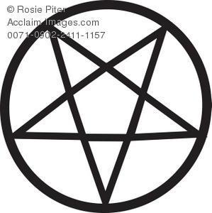 Pentagram clipart A Pentagram of Illustration Clipart