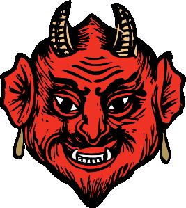 Satan clipart #1