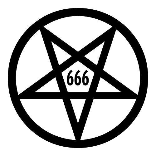 Satanic clipart Art Clip Satanic Pentagram Art