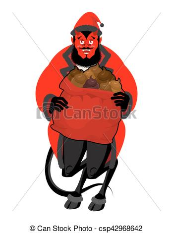 Satanic clipart bad guy #3