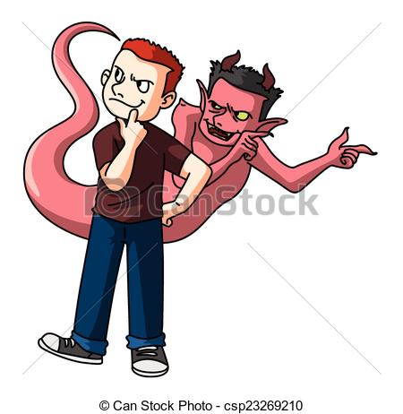 Satanic clipart bad guy Search Clip Satan of The