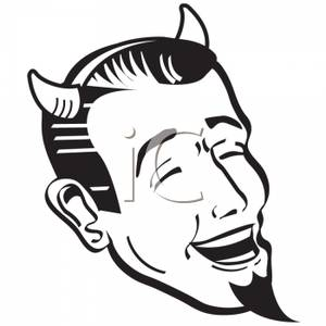 Satanic clipart cartoon Clipart Royalty Laughing Free Picture