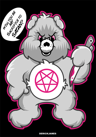Satanic clipart cute #8