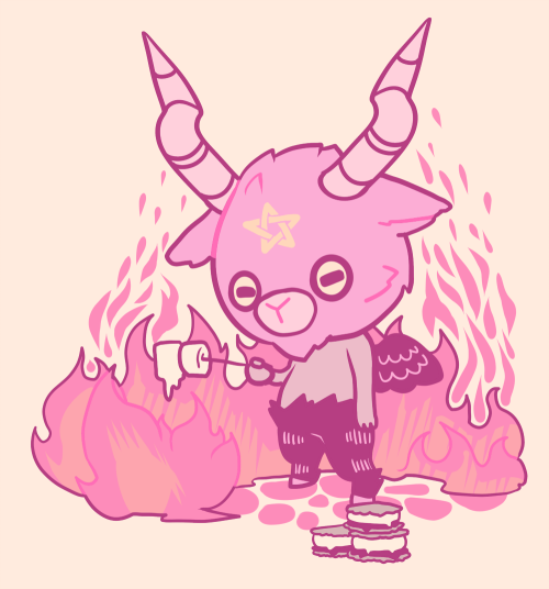 Satanic clipart cute #11