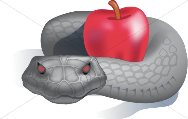 Serpent clipart eve Satan and Satan Adam of