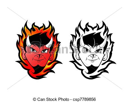 Satanic clipart logo Illustration Devil / Stock Satan