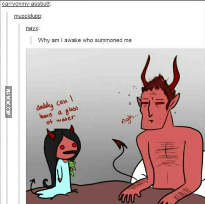 Satanic clipart mean Satan mean mean water you