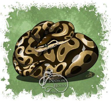 Satanic clipart python #15