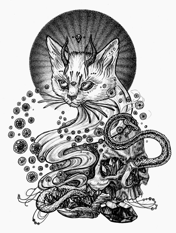 Satanism clipart small snake Art satanic Поиск Pinterest STN