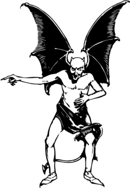 Satan clipart vector Devil for vector Free commercial
