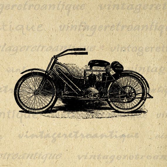 Satanism clipart vintage motorcycle Harley Printable ideas Graphic Png