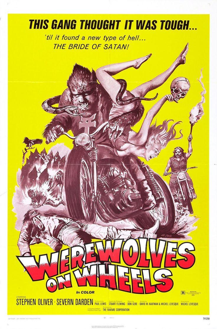 Satanism clipart vintage motorcycle On ideas 10+ Werewolves Wheels