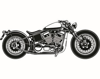 Satanism clipart vintage motorcycle #14 Bike Outlaw Vintage Motorcycle