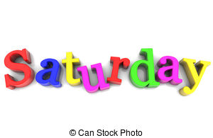 Saturday clipart #1
