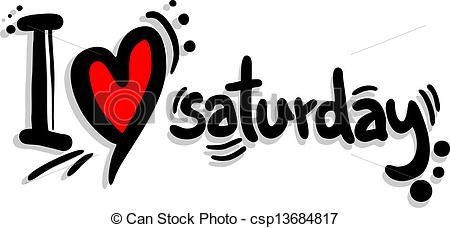 Saturday clipart #13