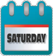 Saturday clipart #8