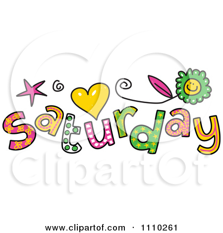 Saturday clipart #12