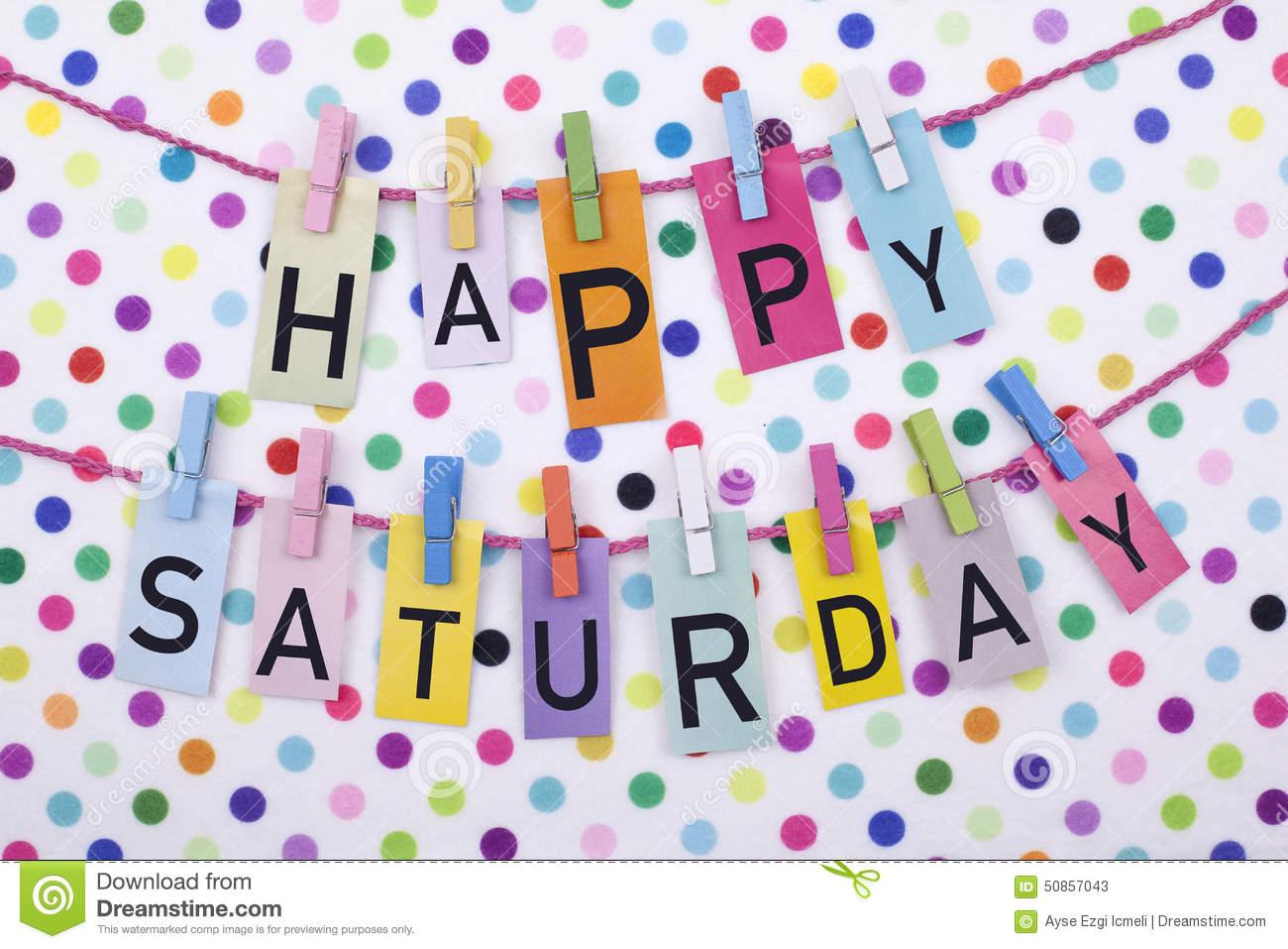 Saturday clipart happy saturday #5