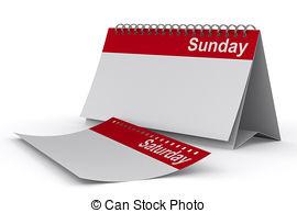 Saturday clipart sunday #2