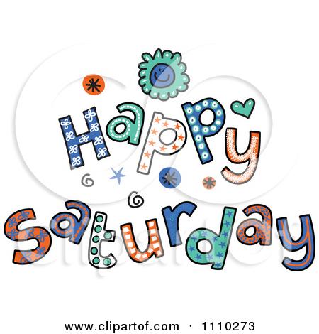 Saturday clipart sunday #1