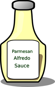 Barbecue Sauce clipart sauce bottle Clipart Sauce  Alfredo