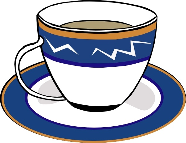 Saucer clipart Free free Cup and vector)