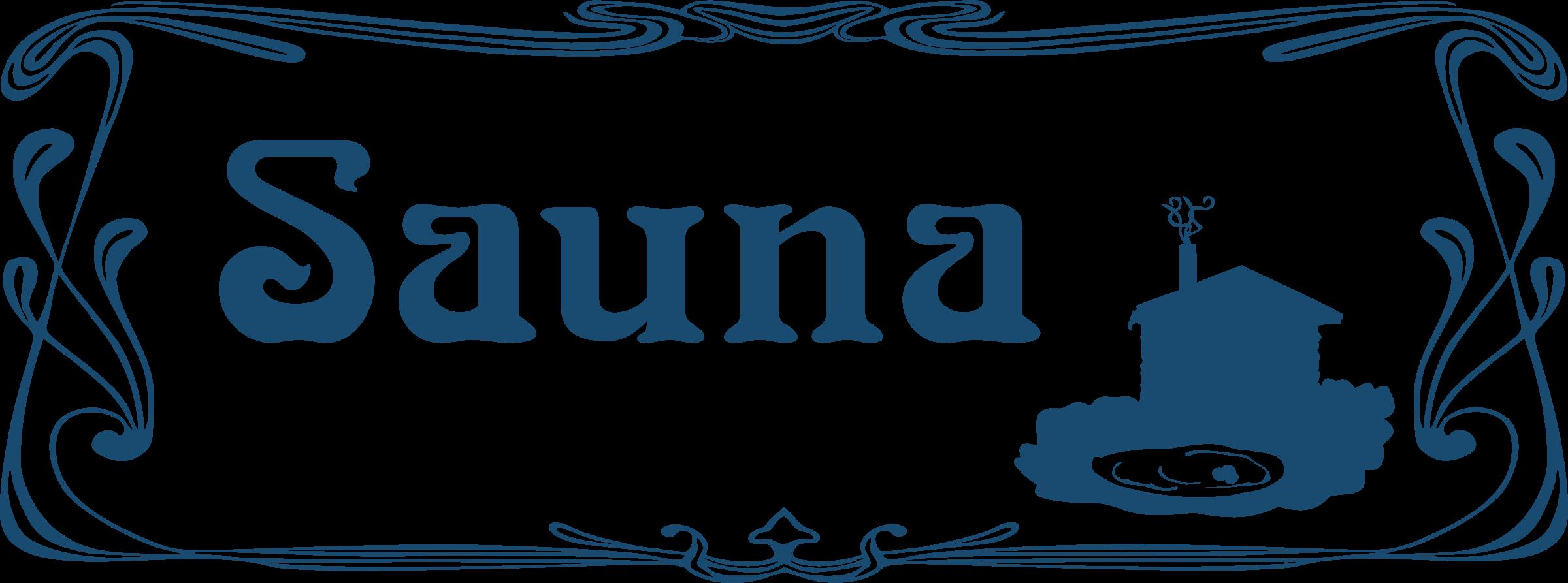 Sauna clipart spa Sign Sign Clipart Sauna Sauna