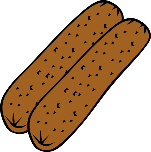 Sausage clipart Free Art to Use Public