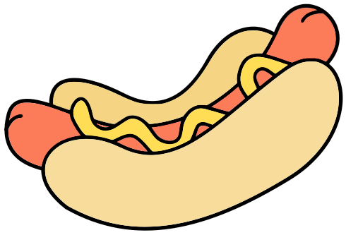 Sausage clipart animated #2