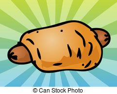 Sausage clipart bread cartoon #4