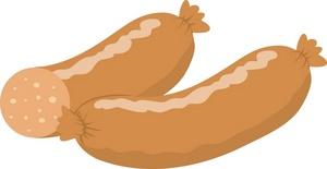 Sausage clipart sausage link #1