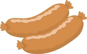Sausage clipart sausage link #6