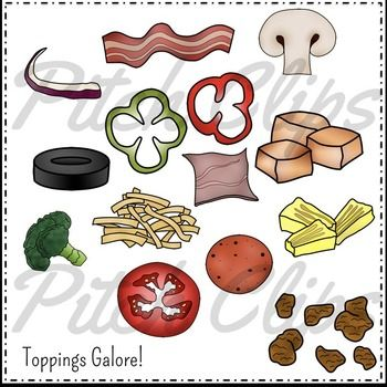 Sausage clipart topping #4