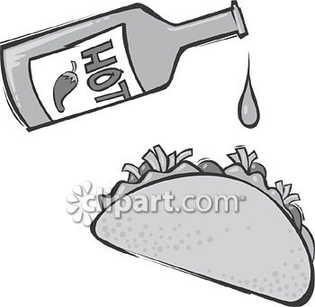Sauce clipart black and white And Edition Demo  screened