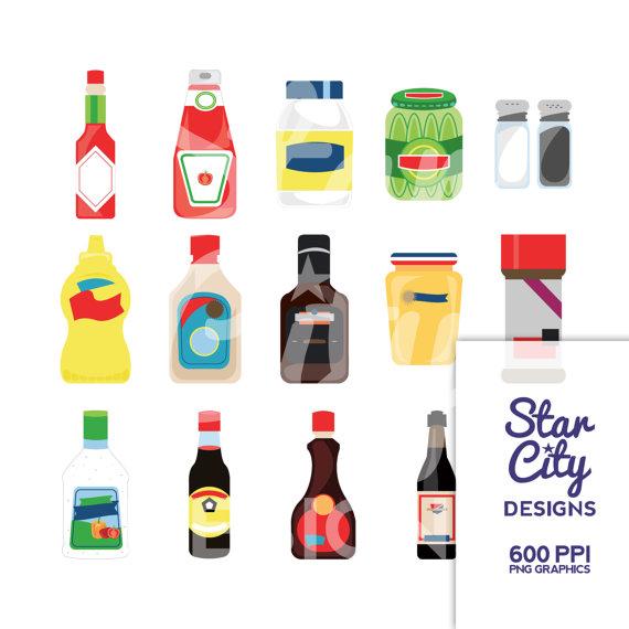 Sause clipart condiment Clip Panda Free Art Clipart