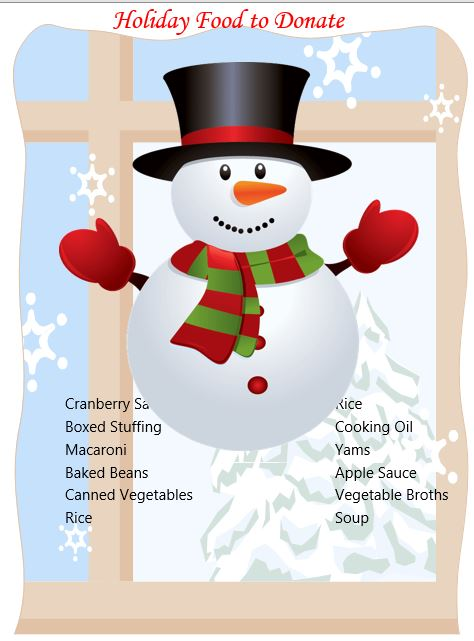 Sauce clipart pantry Flyer support! your Thank printable