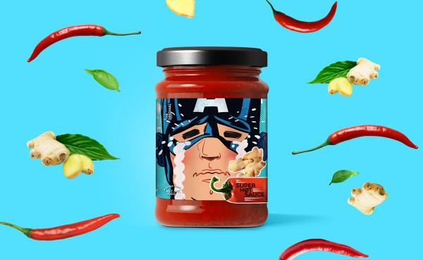 Sauce clipart super hot Superhero Make Hot Cry Sauce