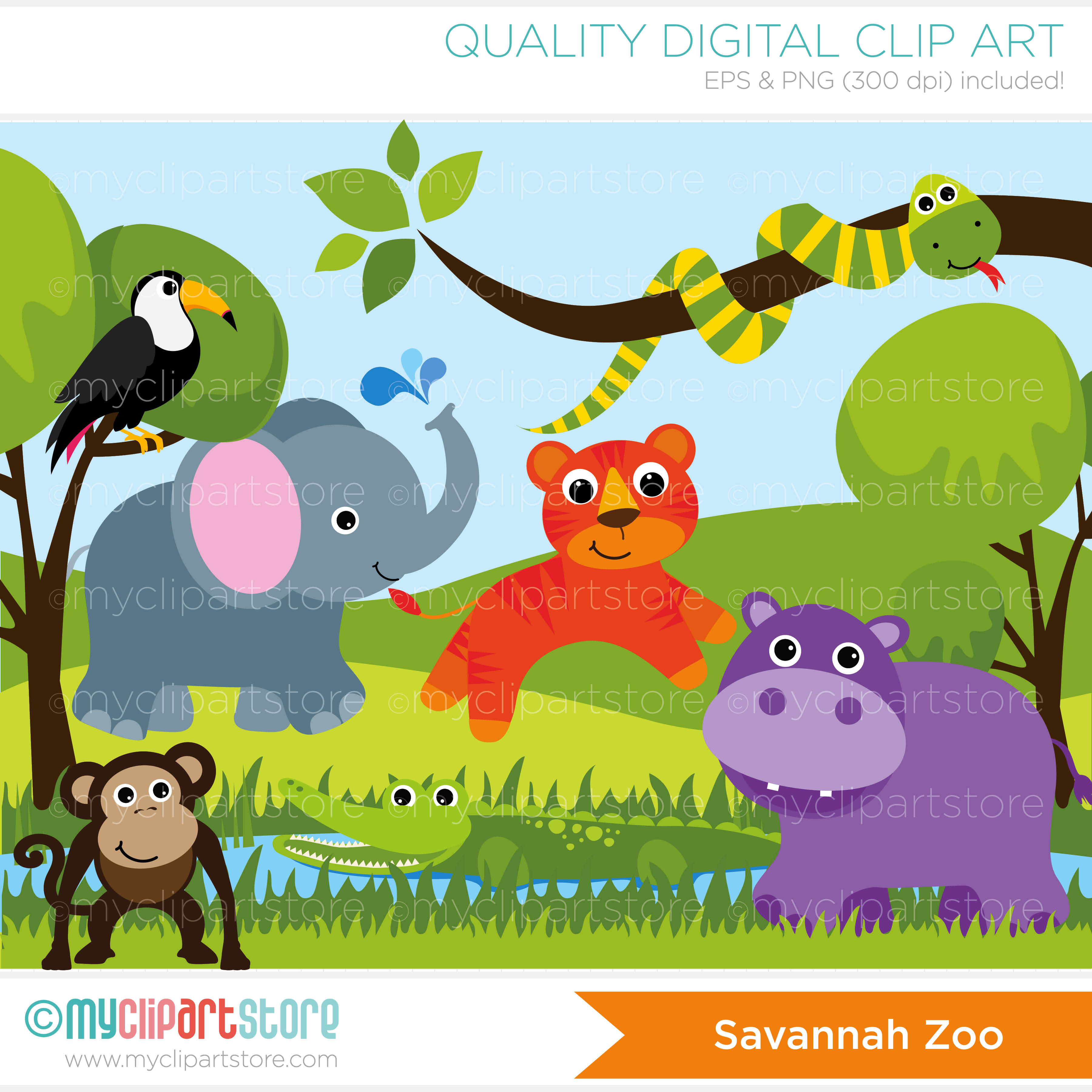 Savannah clipart Animals yw crafts Jungle /