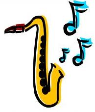 Saxophone clipart Free picture saxaphone with of