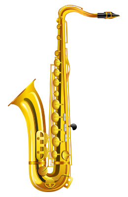 Saxophone clipart Clipart Saxophone Art Free Others