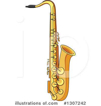 Saxophone clipart SM Clipart by Savoronmorehead Vector