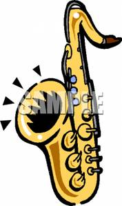 Saxophone clipart blues music Picture Playing Free Music Free