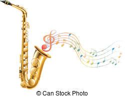 Saxophone clipart christmas #3