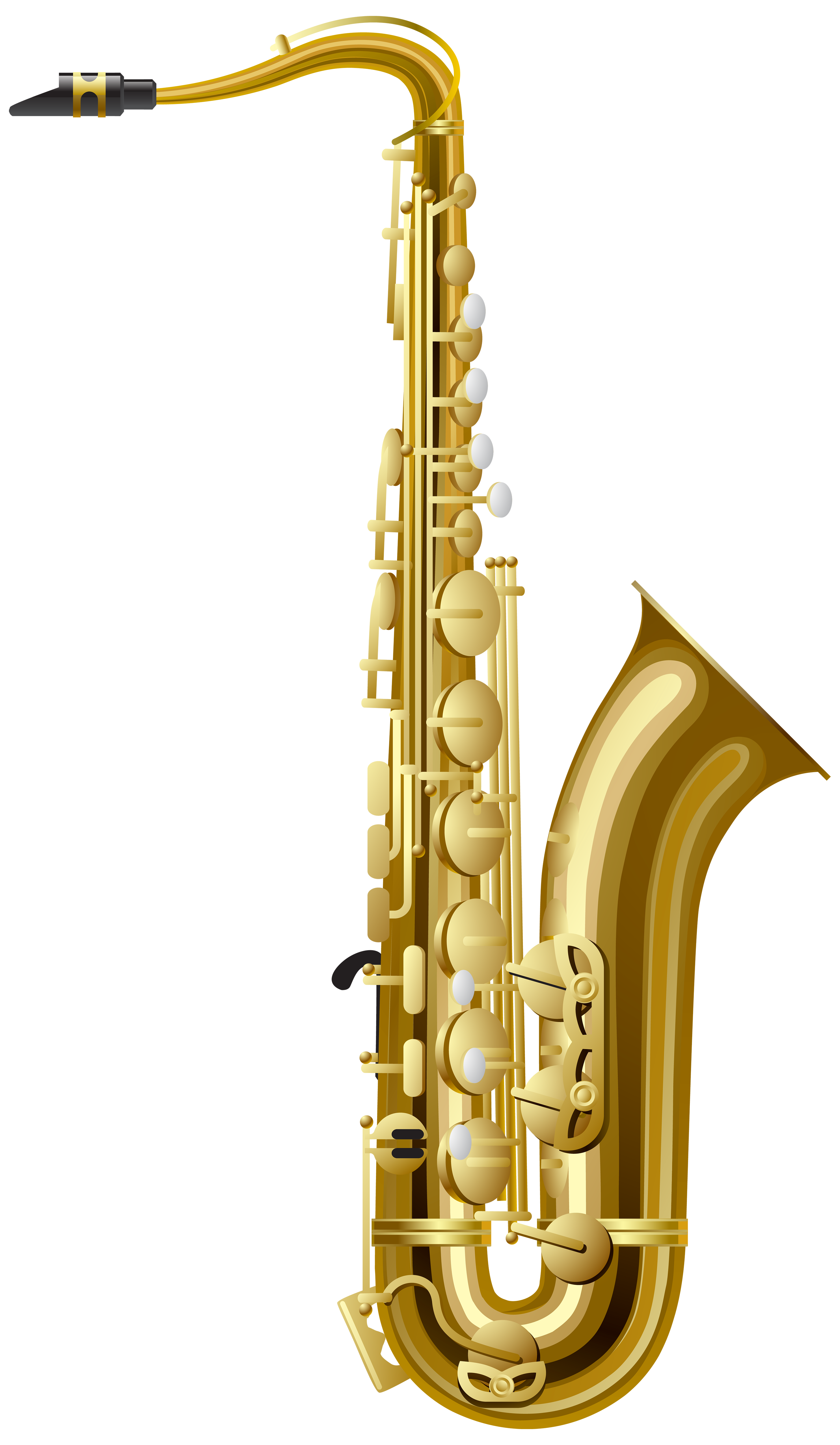 Saxophone clipart christmas #7