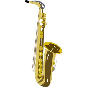 Saxophone clipart instrument (wmf Saxophone  clipart cliparts