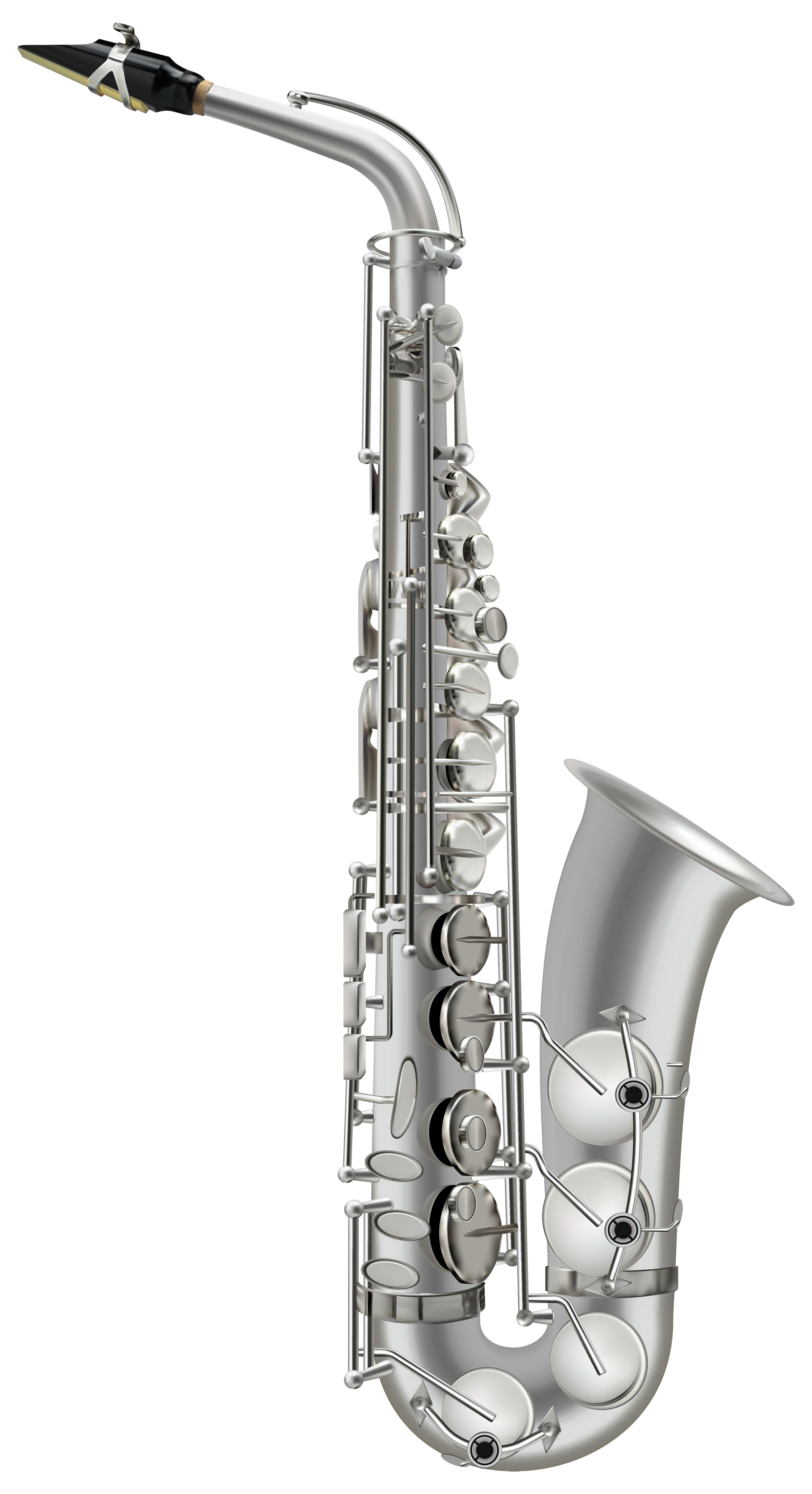 Saxophone clipart music instrument #10