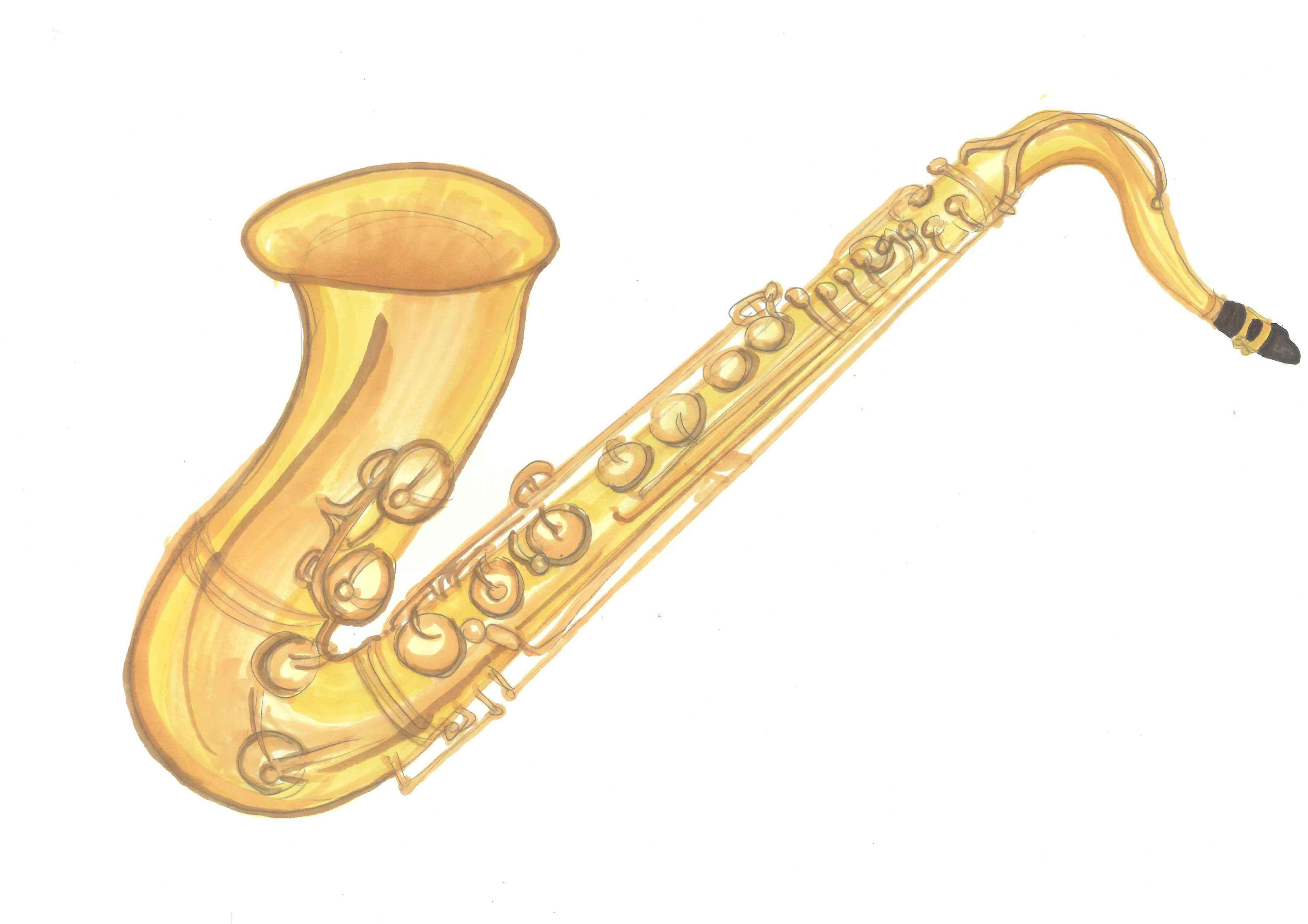 Musical clipart insturment Clipart Art Clipart Saxophone Others