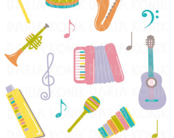 Saxophone clipart music instrument #2